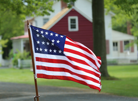 Twenty Six Star U.S. Flag. This Flag became the Official United States Flag on July 4th, 1845.