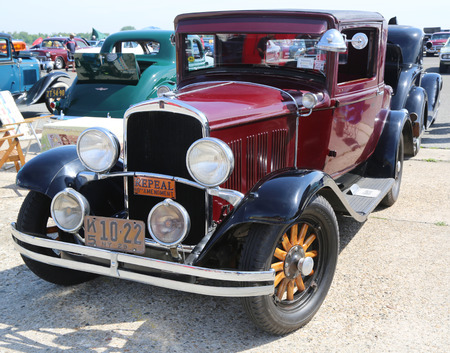 chrysler: BROOKLYN, NEW YORK - JUNE 8, 2014: Historical 1929 Chrysler on display at the Antique Automobile Association of Brooklyn annual Spring Car Show in Brooklyn, New York