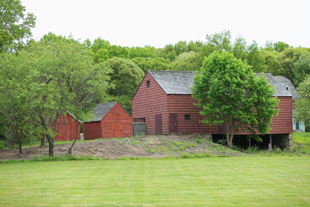 19th: 19th Century Barn in New York State