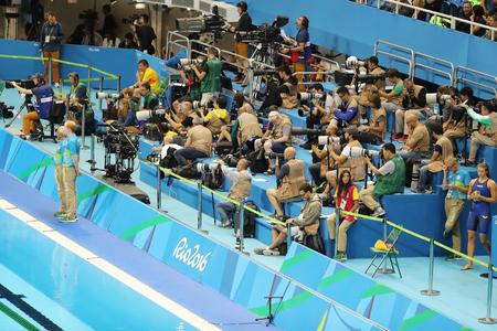 olympic swimming pool rio de janeiro brazil august 10 2016 professional - Olympic Swimming Pool 2016