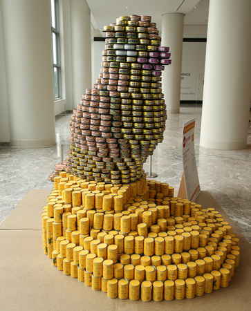 Canned Food Sculpture Contest