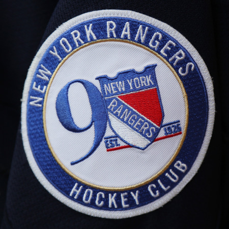 aceefa132 ... usa new york march 16 2017 2017 official new york rangers 90th  anniversary jersey 5451d e1e3c