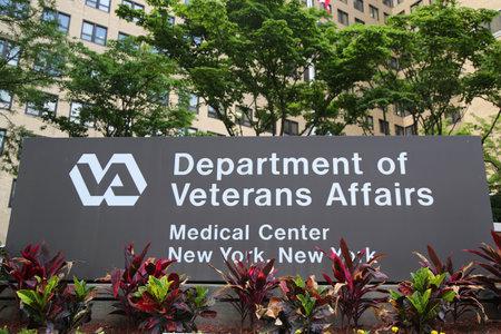 NEW YORK - JULI 11, 2017: Manhattan Veterans Administration Medical Center in New York Redactioneel