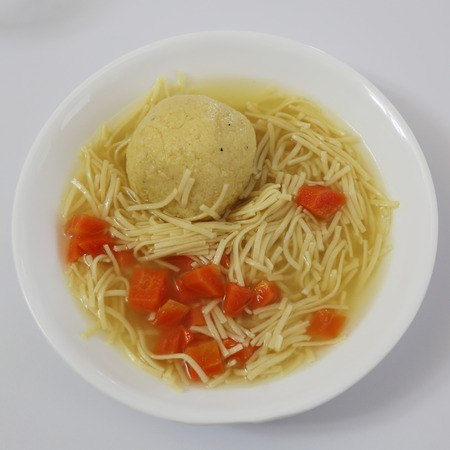 matzoh: Matzoh ball soup