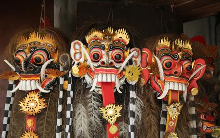 Traditional Balinese dance mask