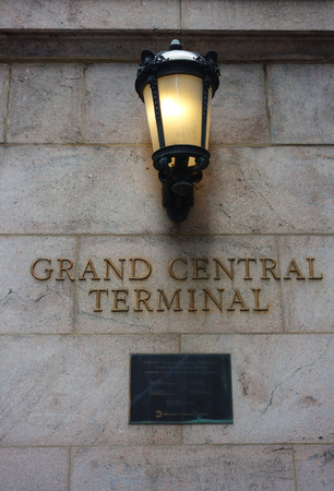 NEW YORK - JUNE 5, 2018: Grand Central Terminal in Midtown Manhattan. Grand Central Terminal is a commuter and intercity railroad terminal at 42nd Street and Park Avenue in Midtown Manhattan Editorial