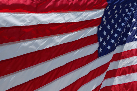 The American Flag in the wind Stock Photo - 104273818