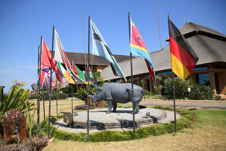 MPUMALANGA, SOUTH AFRICA - OCTOBER 2, 2018: Kruger Mpumalanga International Airport in South Africa