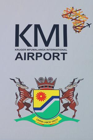 MPUMALANGA, SOUTH AFRICA - OCTOBER 2, 2018: Kruger Mpumalanga International Airport in South Africa Editorial