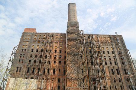 Brooklyns Domino Sugar Factory Redevelopment project in Williamsburg, New York