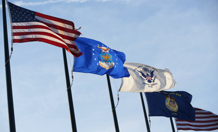 Military flags of the United States