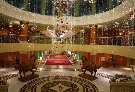 PLAYA DEL CARMEN, MEXICO - DECEMBER 31, 2017: Iberostar Grand Hotel Paraiso at Playa Del Carmen in Mexico