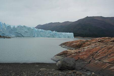 Perito Moreno Glacier in the Los Glaciares National Park in southwest Santa Cruz Province, Argentina 写真素材