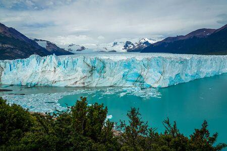 Perito Moreno Glacier in the Los Glaciares National Park in southwest Santa Cruz Province, Argentina