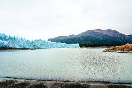 Perito Moreno Glacier in the Los Glaciares National Park in southwest Santa Cruz Province, Argentina