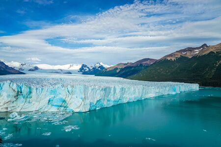 Perito Moreno Glacier in the Los Glaciares National Park in southwest Santa Cruz Province, ArgentinaPerito Moreno Glacier in the Los Glaciares National Park in southwest Santa Cruz Province, Argentina