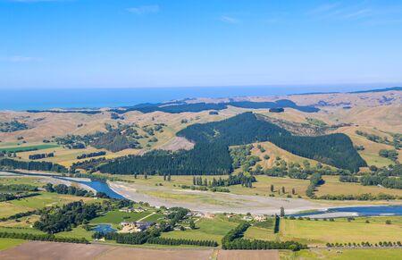 "Panoramic view from Te Mata peak, Hawke""s Bay, New Zealand"