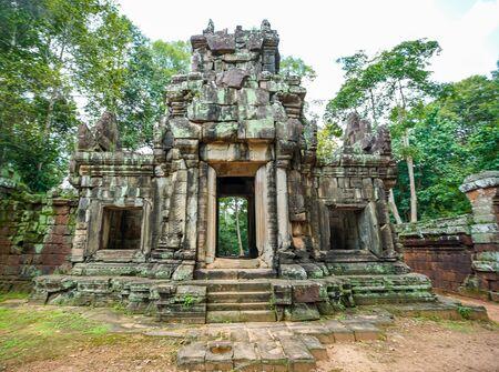 Phimeanakas Hindu temple at Angkor, Cambodia