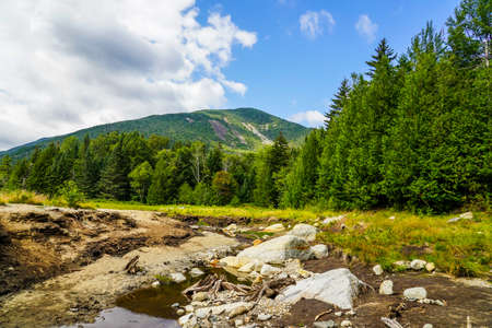 High Peaks Wilderness Area of the Adirondack State Park in Upstate New York