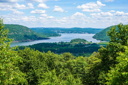 View of the Hudson River from Bear Mountain
