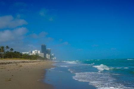 Hallandale Beach in South Florida. Hallandale Beach is a city in Broward County, Florida Stock fotó