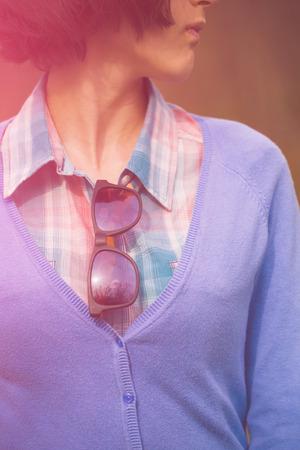 good shirt: Plaid shirt on a girl with a good figure.