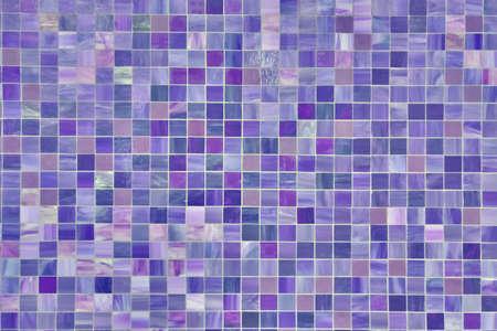 Violet tile background, blue surface texture