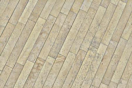 Background of shabby old wooden floor. Abraded parquet boards. Texture of board worn wooden floor. Reklamní fotografie