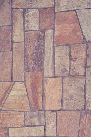 The texture of the floor is a beige tile irregular shape Stockfoto