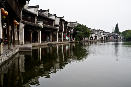 humanistic: Ancient town of Nanxun water