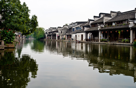 humanistic: Ancient town of Nanxun water