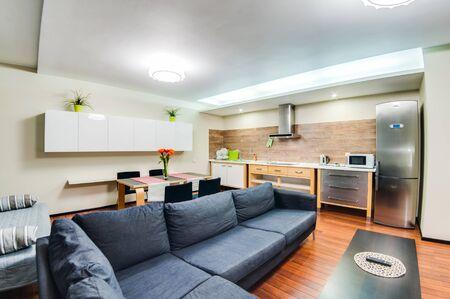 Russia, Novosibirsk - December 29, 2015: interior room apartment.