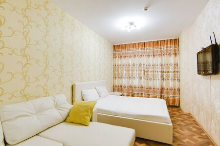 Russia, Moscow- september 20, 2017: interior room apartment