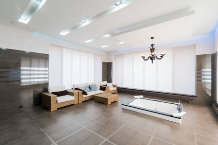 Russia, Moscow- July 21, 2019: interior room apartment. standard repair decoration in hostel. Russia, Moscow- July 21, 2019: interior room apartment. standard repair decoration in hostel. modern bright beautiful room Editorial