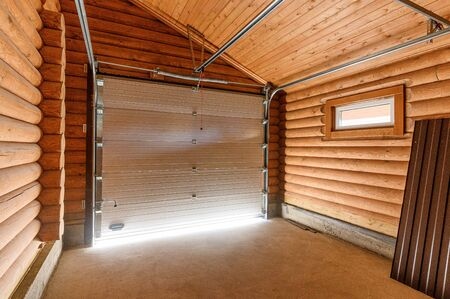 Russia, Moscow- September 10, 2019: interior room bright modern car garage Редакционное