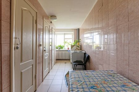 Russia, Moscow- September 10, 2019: interior room apartment public place