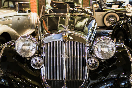 Museum of Technology Vadim Zadorozhnogo - Russias largest private museum of art Horc 853 A Special - Roadster. Russia, Moscow, 24 January 2015 Editorial