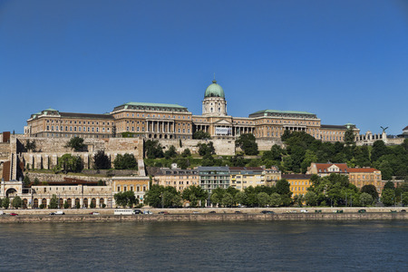 The Hungarian National Gallery is one of the leading art museums in Hungary, possessing an extensive collection of Hungarian art from the Middle Ages until the 20th century Budapest, Hungary, 5 June, 2016