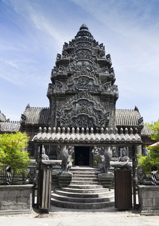 beautiful hotel Le Palais Hotelbuilt in honor of the faith of the parents of the Creator similar to the temple in Indonesia is open from 30 June 2017 2 July 2017 Thailand Koh Phangan Editorial