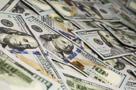 making hole: Money Stock Photo