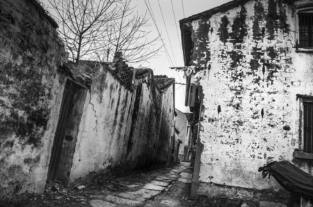dwellings: The old China traditional dwellings Stock Photo