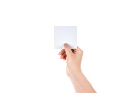 visitekaartje: Bedrijf blanco visitekaartje