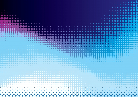 halftone dots: abstract background from blue halftone