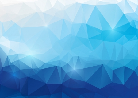 Vector abstract polygonal background Imagens - 24889757