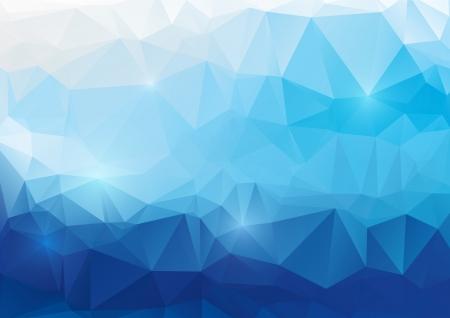 Vector abstracte veelhoekige achtergrond