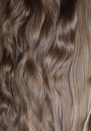 Natural human hair texture