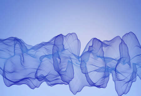 Blue abstract smoky background