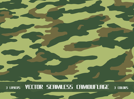 vector seamless camouflage pattern  イラスト・ベクター素材