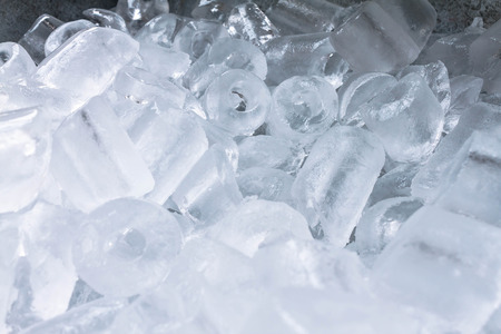 icecubes: background with ice cubes. ice cubes isolated on white .