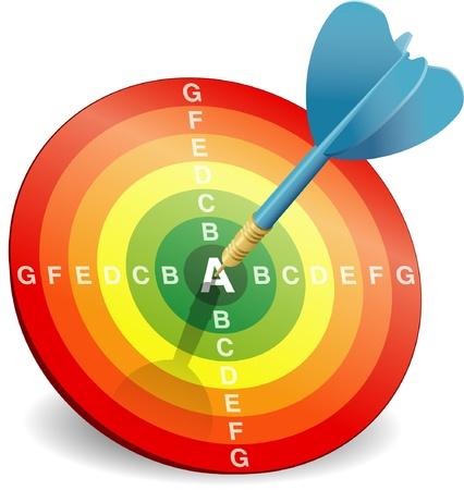 Energy efficiency rating Stock Vector - 15827464
